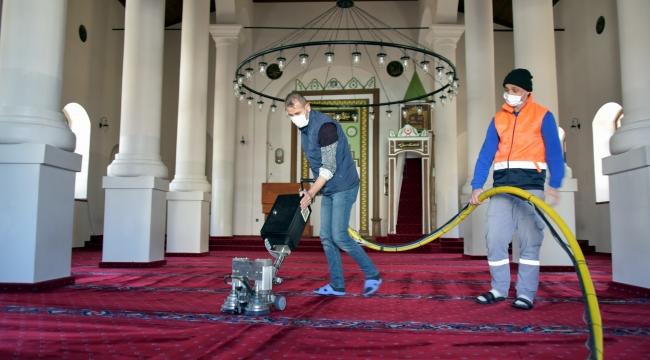 İbadethanelerde Ramazan Temizliği