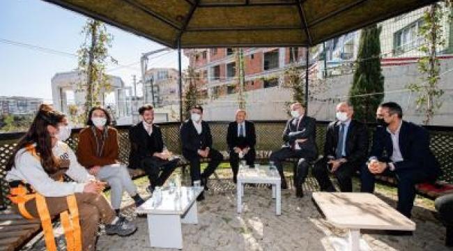 """""""İzmir Türkiye'ye örnek bir tesis kazanacak"""""""